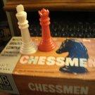 1958 Set of Chess Pieces  Milton Bradley Chessmen Complete