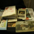 Lot of 18 Vintage Road Maps Mostly Michigan & Newaygo County & Others