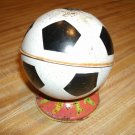 Vintage Tin Litho Ohio Art Soccer Ball Bank