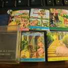 Mighty Midget Miniature Books - Set of Five - In Original Plastic Box - Nice