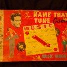 "Milton Bradley NAME THAT TUNE - ""A MUSIC BINGO GAME"" 1959 Second Edition"