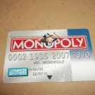 Monopoly Electronic Banking Game Part - 1 Bankcard - BLUE