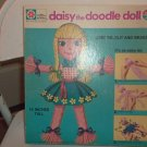 1971 daisy the doodle doll - Doll Making Craft Kit - Never cut or assembled CUTE