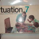 Situation 7 Space Puzzle Game 1969 Almost Complete