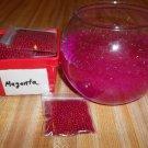 Water Beads - Gel Beads - Plant Soil Beads 1 bag Magenta