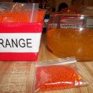 Water Beads - Gel Beads - Plant Soil Beads 1 bag Orange
