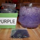 Water Beads - Gel Beads - Plant Soil Beads 1 bag Purple
