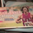 Bruce Jenner Decathlon Game 1979  Complete Includes P.O.P. Token