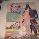 Vintage Giant Sleeping Beauty Coloring Book