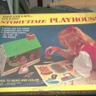 Storytime Playhouse 1972 New Sealed Box 3 Stories to Read & Color 18 Standups