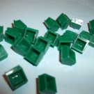 Parker Brothers Monopoly  21 green plastic houses