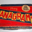 1949? Anagrams by Kaysons Novelty Co Large Letters on Heavy Cardboard Unpunched