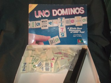 UNO Dominos - 1986  - Complete  -Tiles OK