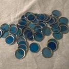 """Vintage Green """"MEGA"""" Chips for Bingo Bag of 50 used Blue Chips"""
