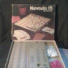 Vintage 1975 ES Lowe Nevada 15 Gin Rummy Game