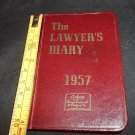 THE LAWYER'S DIARY 1957 by West Federal Forms and no writing at all! UNUSED!!!