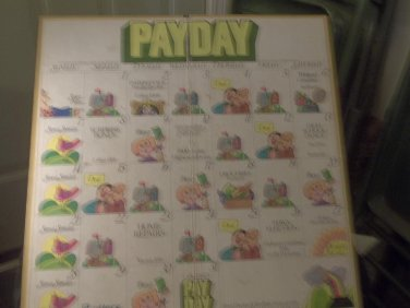 1975 PayDay Game - Board Only - Parker Brothers