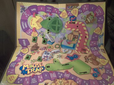 2004 Mouse Trap Game   BOARD Only