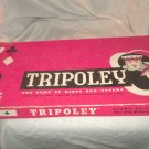 1961 Tripoley Game Cadaco Almost Complete