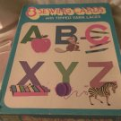 Child's Activity 8 SEWING CARDS Saalfield #6125 with 10 Yarn Laces PLUS 9 Extras