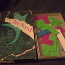 Vintage, It's Hexed Jinx Jigsaw Game In Box. A Tryne game.