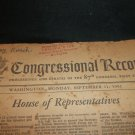 Congressional Record Proceedings and Debates of 87th Congress 1st Session 1961