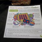 2002 Cranium Cadoo 4 Kids Game Part Only - GAME RULES