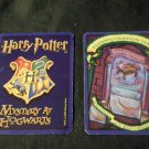 2000 Harry Potter Mystery At Hogwarts Game Part -  Blue Card, transfiguration class
