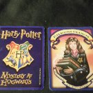 2000 Harry Potter Mystery At Hogwarts Game Part -  Blue Card,  Flying Class