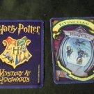 2000 Harry Potter Mystery At Hogwarts Game Part -  Blue Card,  Wingardium Leviosa