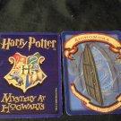 2000 Harry Potter Mystery At Hogwarts Game Part -  Blue Card,  Alohomora