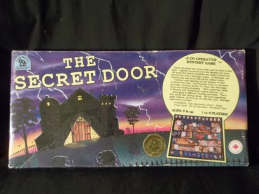 The Secret Door Cooperative Mystery Board Family Game
