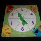 Spinner From Sesame Street Chutes & Ladders Game SPINNER ONLY