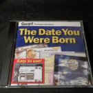 The Date You Were Born CD Image Program For Older Computers Used + Bonus Disk