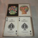 Vintage Playing Cards -  Congress 606, Double Deck, With Box, Complete