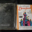 1964 Walt Disney's Disneyland Character Playing Cards by Whitman in Case USED