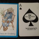 Holly Hobbie Swap Card, Good Times are for Sharing, (1) ONE Card, Ace of Spades