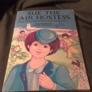 Sue The Air Hostess - Cut Out Doll Dressing Book - Complete, Unused, Paper Dolls