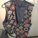 Railroad Vest Size XL - Only worn a couple of times - Many RR Lines Represented
