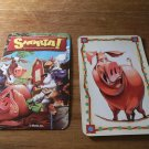 Snorta !  Game PART ONLY!  ONE game card ONLY!  Pig Card