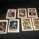Lot of 7 Baseball Cards - Topps Leaders 1987