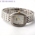 SWAROVSKI LADY WATCH WITH SOLID BRACELET AND MOP DIAL
