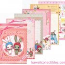 Kawaii San-X Japan Ruu & Suu Bunny Rabbit Memo Pad w/ Stickers A