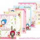 Kawaii San-X Japan Ruu & Suu Bunny Rabbit Memo Pad w/ Stickers B