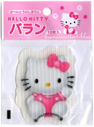 RARE Sanrio Hello Kitty Baran Bento Plastic Divider Partition 2002