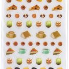 Kawaii Mind Wave Japan Eat Seal Dessert Sticker Sheet RARE