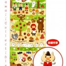 Kawaii Mind Wave Japan Woodland Fairy Tales Pleasant Funny Story Epoxy Stickers Sticker Sheet NEW