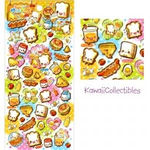 Kawaii Crux Japan Sandocchi Epoxy Stickers Sticker Sheet NEW