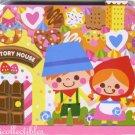 Kawaii Kamio Japan The Story House Hansel & Gretel Die-Cut Memo Pad NEW