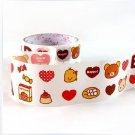 Kawaii Angoo Wide Deco Tape San-X Rilakkuma Relax Bear NEW